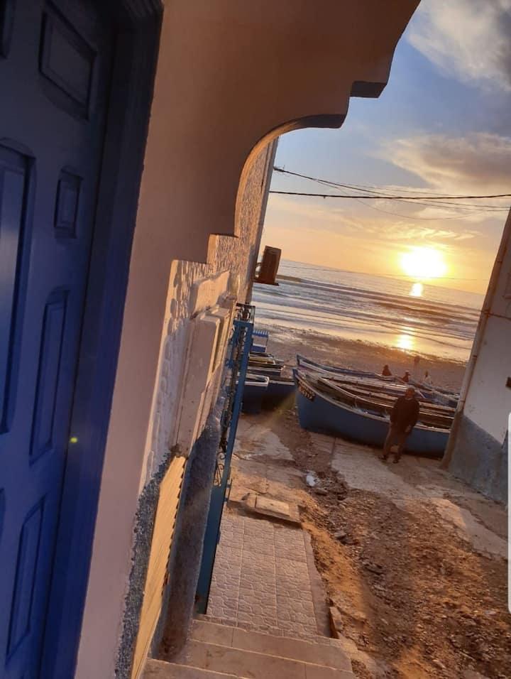 Logement entier, taghazout village, best sea view!