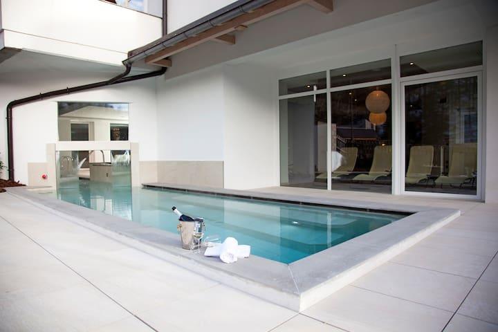 B/b nelle Dolomiti con piscina