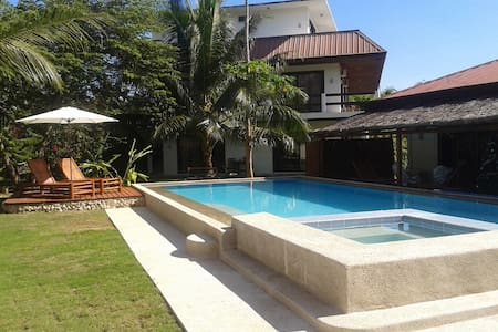 Panglao Studio-FREE SCOOTER-Pool-island-Near Beach - 邦劳岛(Panglao)