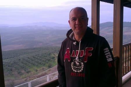Dağ,deniz ve nefis doğa manzarası - Mürsel - Huvila