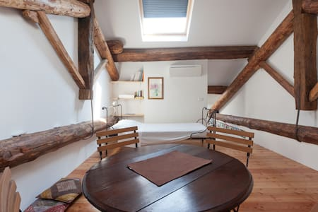 CHARMING STUDIO under the roofs - Piacenza - Loft - 1