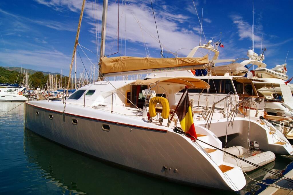 Catamaran de 13,5 mètres ...