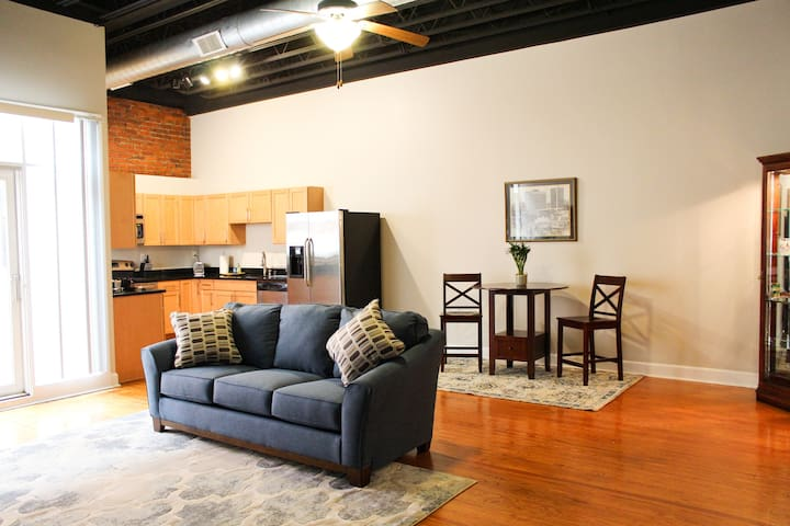 River City Loft - Free downtown parking! - Louisville