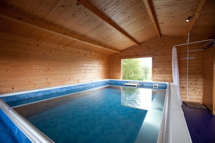 The Steading with Pool & Hot Tub - Gartmore - Huis