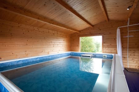 The Steading with Pool & Hot Tub - Gartmore