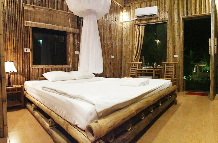 ham rong homestay - double room with mountain view