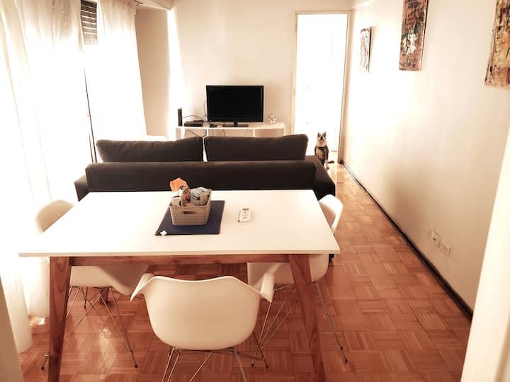 Apartamento dos ambientes zona Alto Palermo