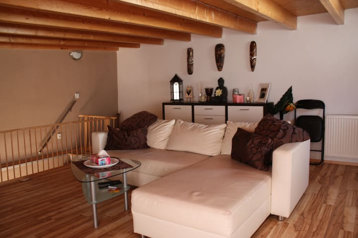 Wooden lounge Apt. - Neu-Isenburg - Appartement
