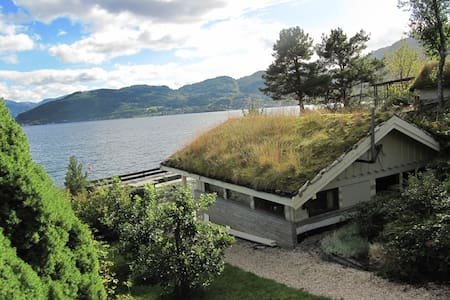 Holiday by the fiord in Hardanger - Norheimsund - Cabane