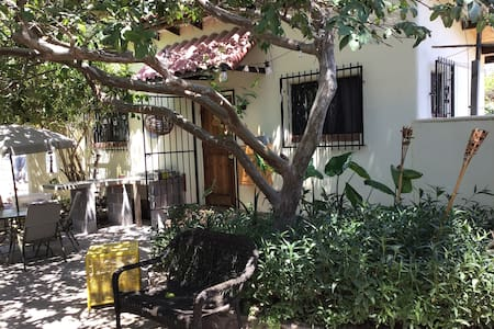 2BR Peaceful Casita-heart of Mulege, on the river.