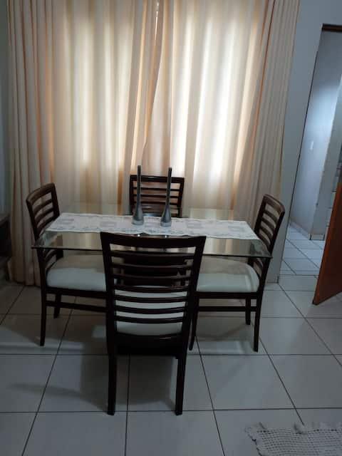 Casa Tua em Rio Verde /Simples e confortável