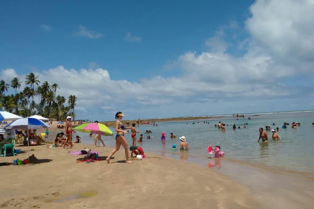 Praia de Guarajuba (Piscinas Naturais)