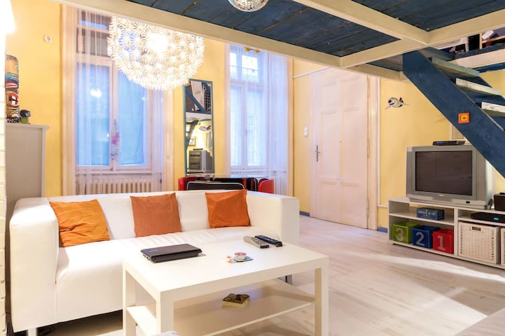 Fantastic Apt in the city center  - Budapest - Lägenhet