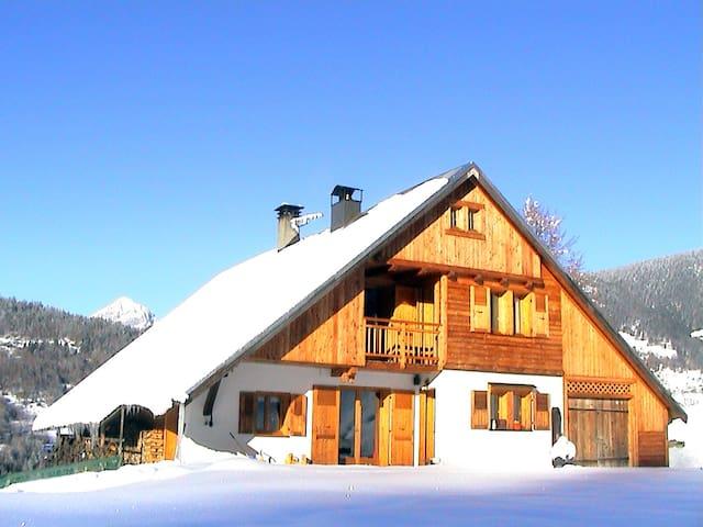 Chalet Beaufortain - La Maison Sevessand - 1814
