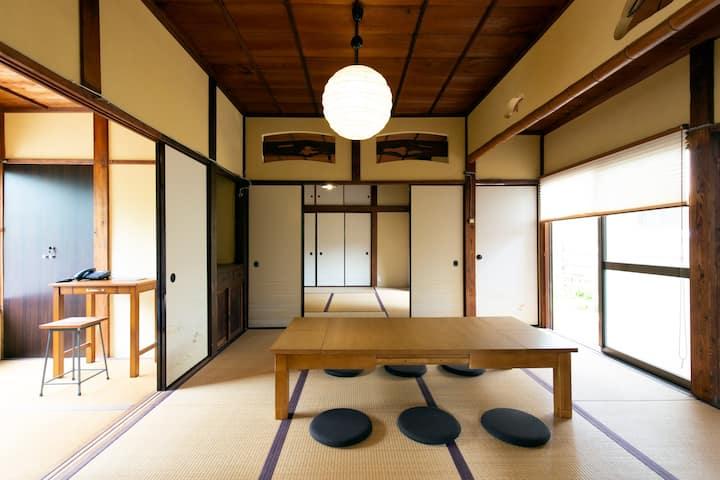 「1日1組限定貸切」haletto house SAKANOSHITA