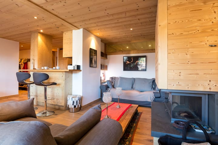 Apartment Lux heart Megeve for 4 - Megève - Apartamento