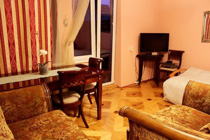 Cozy room near Kaunas city center (2st) - Kaunas - House