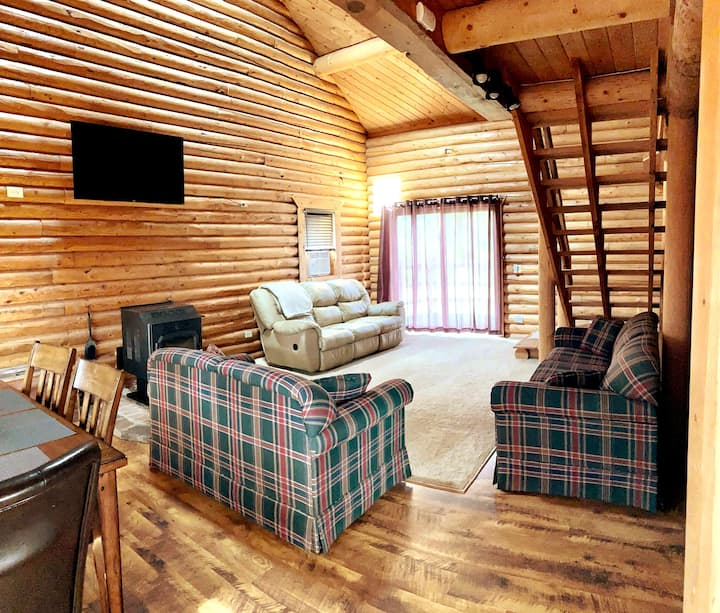 Spacious Cabin on Three Acres