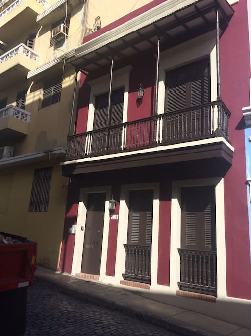 Beautifully remodeled building in the heart of Old San Juan