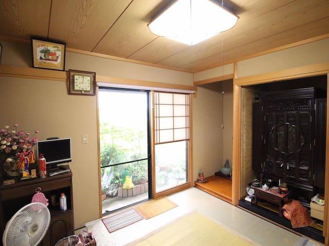 Japanese style room. 和風のお部屋です。