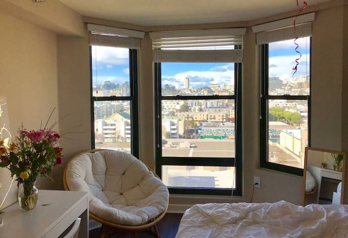 A Bright Room in the middle of San Francisco