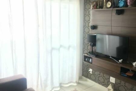 Alugo Quarto aconchegante em condomínio fechado.