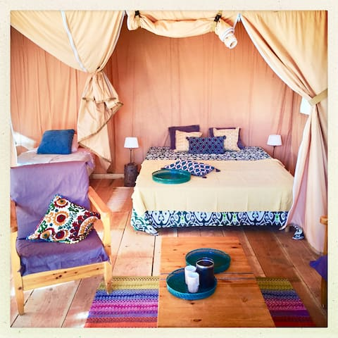 Luxury Safari tent South of france getaway - Villanière - Tenda