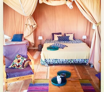 Luxury Safari tent South of france getaway - Villanière - Tent