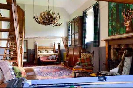The Schoolhouse, an original,fabulous holiday let
