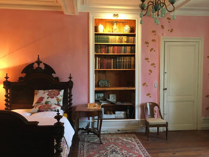 La chambre rose - home with a view