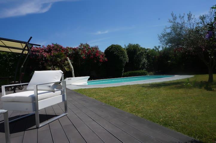 LOVELY VILLA SOUTH FRANCE, PRIVATE POOL & GARDEN - Saint-Génies-de-Fontedit - Haus