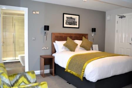 Carmarthen centre large double room with en-suite