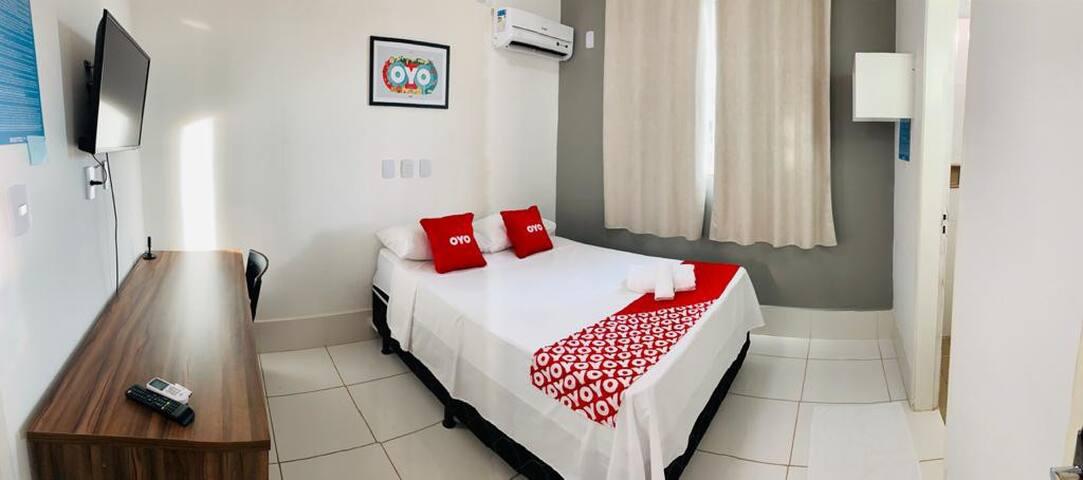 Hotel!! 214 localizado Setor Bueno preço acessível