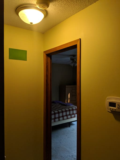 Entrance to Green Room