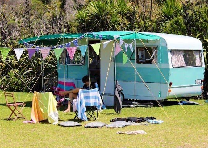 Atawhai Villa Koru Classic Retro Caravan