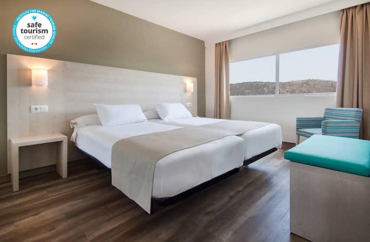 Cómodo y reformado apartamento de 1 dormitorio