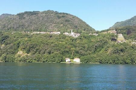 Casa Clerici - Ca' del merican - l' affresco - Brolo