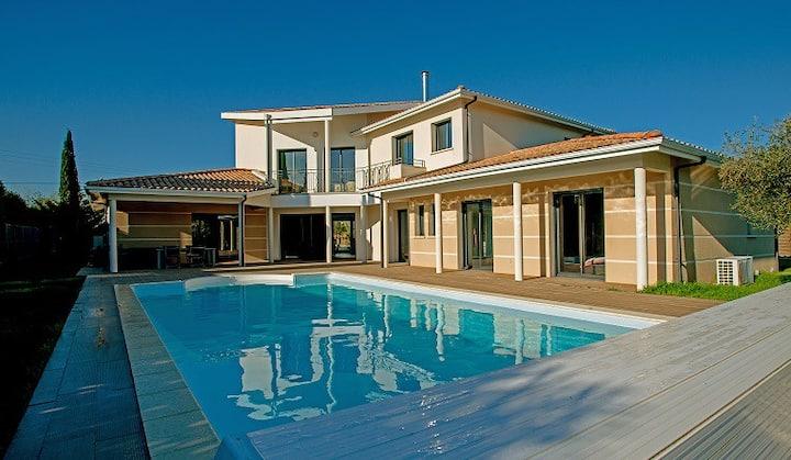 Villa proche Bordeaux - piscine
