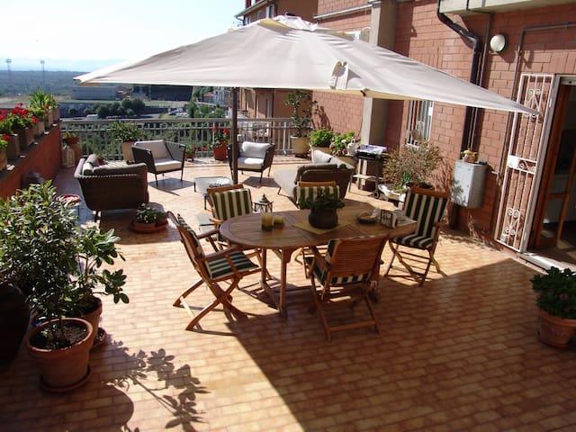 """casa vacanza """"la terrazza"""" - Soriano Nel Cimino - Apartemen"""