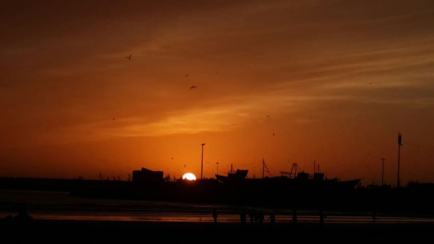 My beloved sunsets in essouira