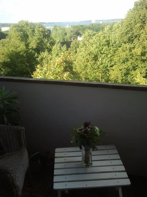 Balkon (Nordost-Ausrichtung)