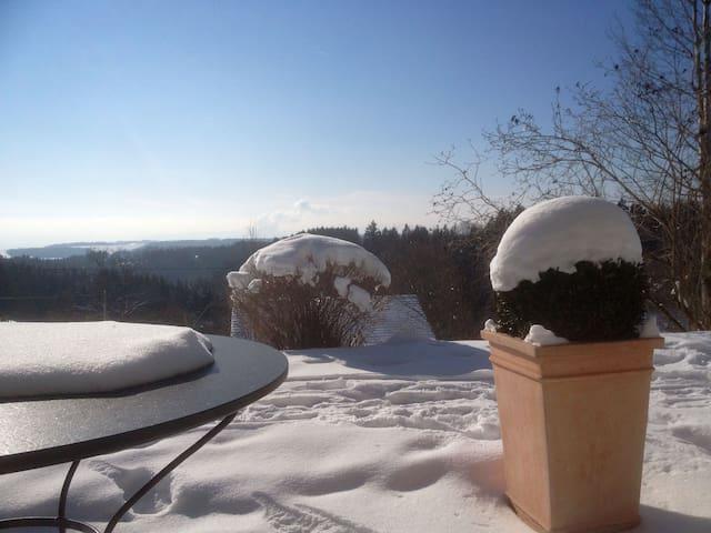 Ferienwohnung Garden Suite, 2,5 Zi-App. - Höchenschwand - Apartamento