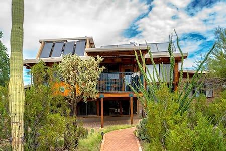 Stunning Artistic Adobe Solar Home - House