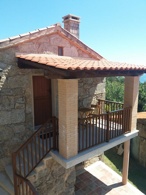 Casa rústica para 2-3 personas a 1 km de la playa