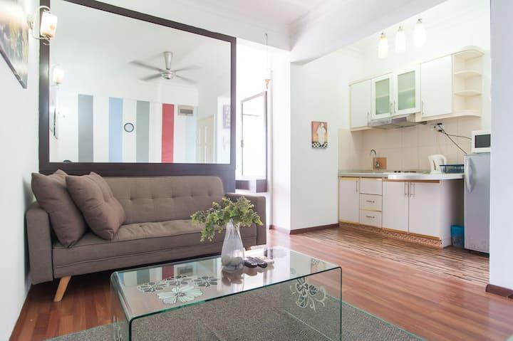 #01 Casa Mutiara BALCONY 1R1B Bukit Bintang KL 9-3
