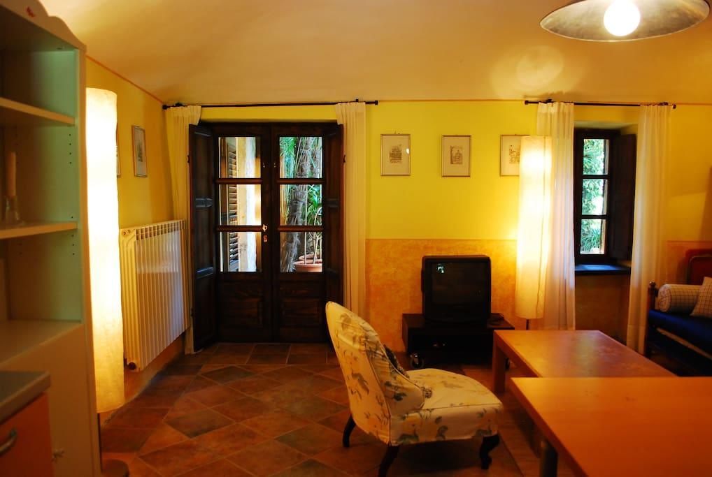 La palmizietta cumiana to suite degli ospiti in for Piani casa degli ospiti