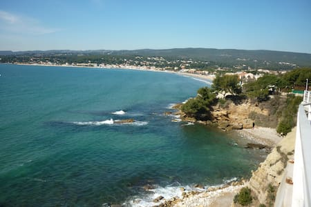 St Cyr/Mer, la plage à 3 min à pied, T2, Jardinet - Saint-Cyr-sur-Mer - Διαμέρισμα