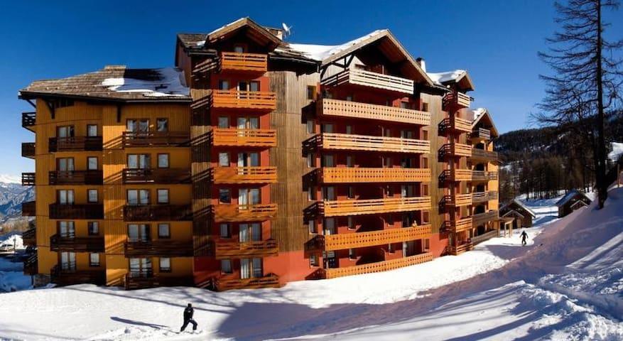 Appartement 5 couchages pied des pistes piscine - Risoul