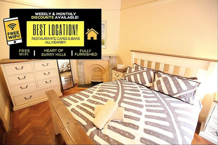 2BD Home Located in Beautiful Surry Hills