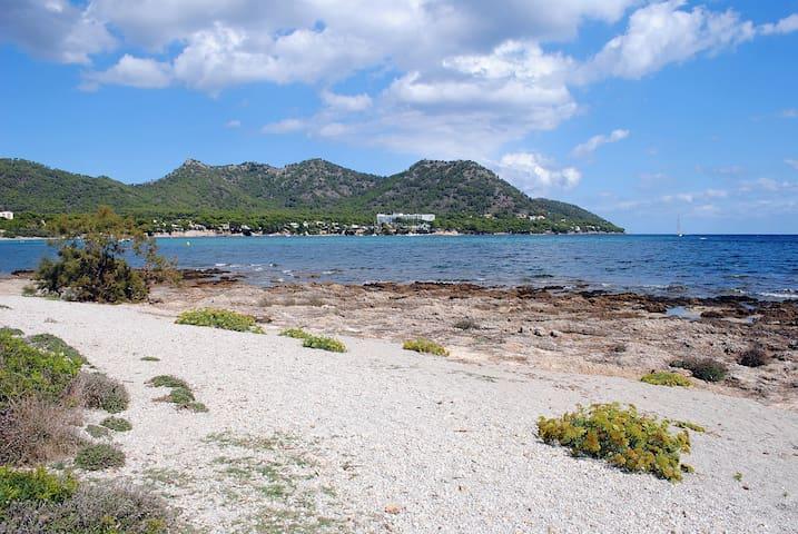 Chalet en primera línea de playa - Son Servera - Chalet